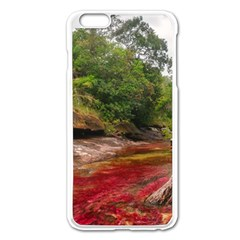 CANO CRISTALES 1 Apple iPhone 6 Plus/6S Plus Enamel White Case