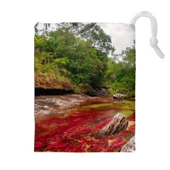 CANO CRISTALES 1 Drawstring Pouches (Extra Large)
