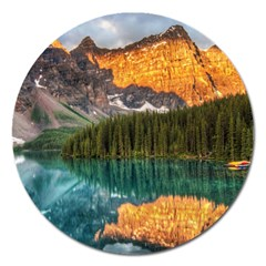 BANFF NATIONAL PARK 4 Magnet 5  (Round)