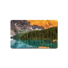 BANFF NATIONAL PARK 4 Magnet (Name Card)