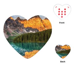 BANFF NATIONAL PARK 4 Playing Cards (Heart)