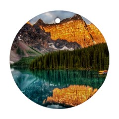 BANFF NATIONAL PARK 4 Round Ornament (Two Sides)