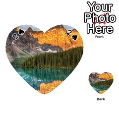 Banff National Park 4 Playing Cards 54 (heart)