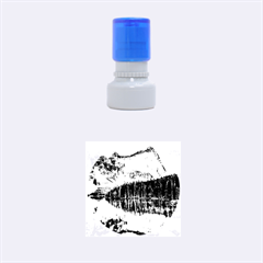 BANFF NATIONAL PARK 4 Rubber Round Stamps (Small)