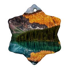 BANFF NATIONAL PARK 4 Snowflake Ornament (2-Side)