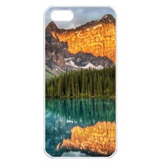 BANFF NATIONAL PARK 4 Apple iPhone 5 Seamless Case (White)