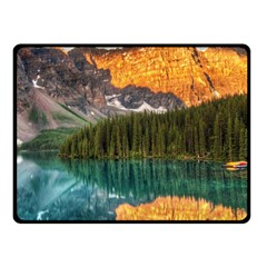 BANFF NATIONAL PARK 4 Double Sided Fleece Blanket (Small)