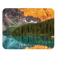 Banff National Park 4 Double Sided Flano Blanket (large)