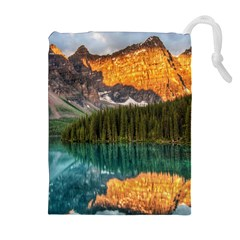 Banff National Park 4 Drawstring Pouches (extra Large)