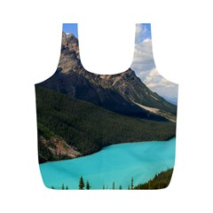 BANFF NATIONAL PARK 3 Full Print Recycle Bags (M)