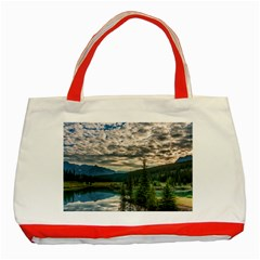 BANFF NATIONAL PARK 2 Classic Tote Bag (Red)