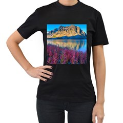 Banff National Park 1 Women s T Shirt (black) (two Sided)