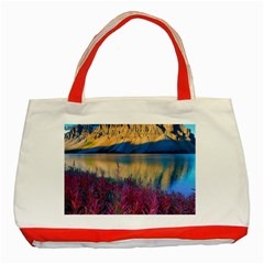 BANFF NATIONAL PARK 1 Classic Tote Bag (Red)