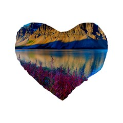 BANFF NATIONAL PARK 1 Standard 16  Premium Heart Shape Cushions