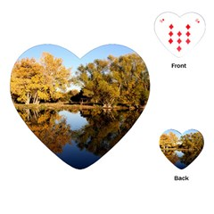 AUTUMN LAKE Playing Cards (Heart)