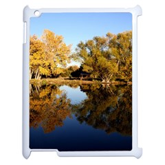 AUTUMN LAKE Apple iPad 2 Case (White)