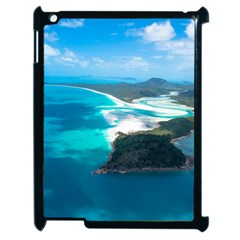 WHITEHAVEN BEACH 2 Apple iPad 2 Case (Black)