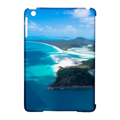 WHITEHAVEN BEACH 2 Apple iPad Mini Hardshell Case (Compatible with Smart Cover)