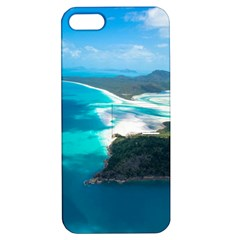 WHITEHAVEN BEACH 2 Apple iPhone 5 Hardshell Case with Stand