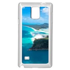 WHITEHAVEN BEACH 2 Samsung Galaxy Note 4 Case (White)