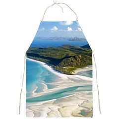 WHITEHAVEN BEACH 1 Full Print Aprons