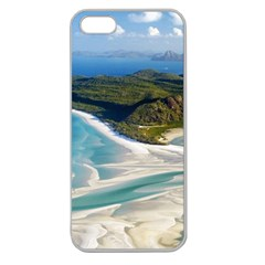 WHITEHAVEN BEACH 1 Apple Seamless iPhone 5 Case (Clear)