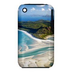 WHITEHAVEN BEACH 1 Apple iPhone 3G/3GS Hardshell Case (PC+Silicone)