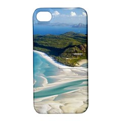 WHITEHAVEN BEACH 1 Apple iPhone 4/4S Hardshell Case with Stand