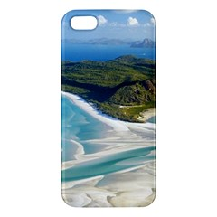 WHITEHAVEN BEACH 1 iPhone 5S Premium Hardshell Case