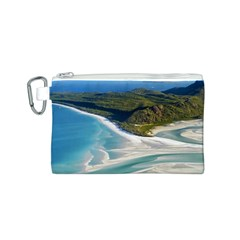 WHITEHAVEN BEACH 1 Canvas Cosmetic Bag (S)