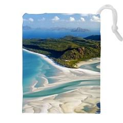 WHITEHAVEN BEACH 1 Drawstring Pouches (XXL)