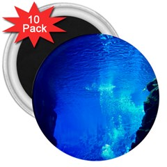 UNDERWATER TRENCH 3  Magnets (10 pack)