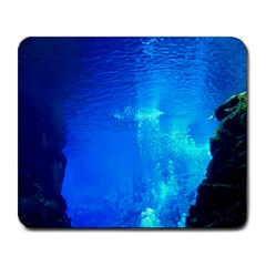 UNDERWATER TRENCH Large Mousepads