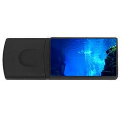 UNDERWATER TRENCH USB Flash Drive Rectangular (4 GB)
