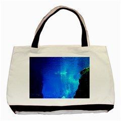 UNDERWATER TRENCH Basic Tote Bag