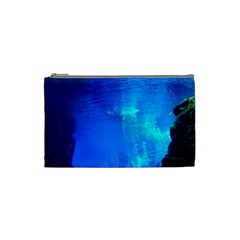UNDERWATER TRENCH Cosmetic Bag (Small)