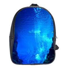 UNDERWATER TRENCH School Bags(Large)