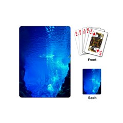 UNDERWATER TRENCH Playing Cards (Mini)