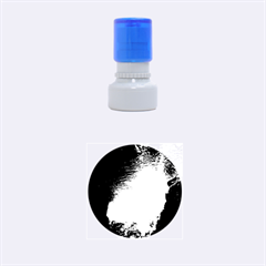 Underwater Trench Rubber Round Stamps (small)