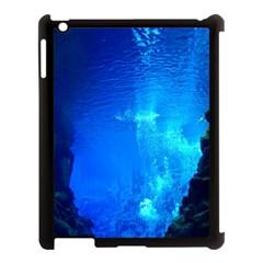 UNDERWATER TRENCH Apple iPad 3/4 Case (Black)