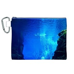 UNDERWATER TRENCH Canvas Cosmetic Bag (XL)