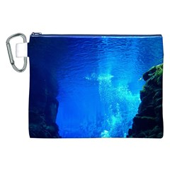 UNDERWATER TRENCH Canvas Cosmetic Bag (XXL)