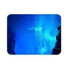 UNDERWATER TRENCH Double Sided Flano Blanket (Mini)