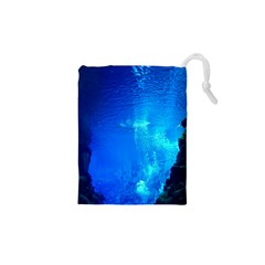Underwater Trench Drawstring Pouches (xs)