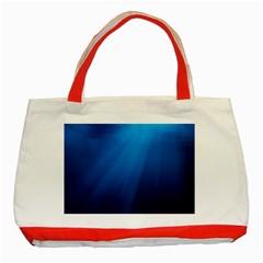 UNDERWATER SUNLIGHT Classic Tote Bag (Red)