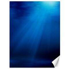 UNDERWATER SUNLIGHT Canvas 36  x 48
