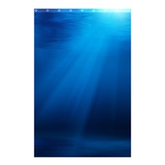 UNDERWATER SUNLIGHT Shower Curtain 48  x 72  (Small)
