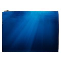 UNDERWATER SUNLIGHT Cosmetic Bag (XXL)