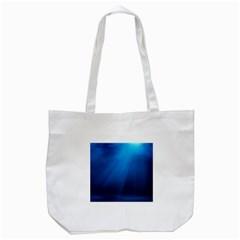 UNDERWATER SUNLIGHT Tote Bag (White)