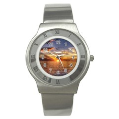 TAHITIAN SUNSET Stainless Steel Watches
